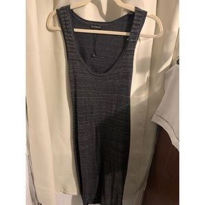 NWOT Express Midi Sweater Dress with Back Cut Out